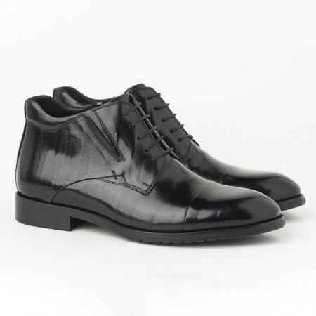 Slika Kožne muške duboke cipele HL-H1051F-3A crne