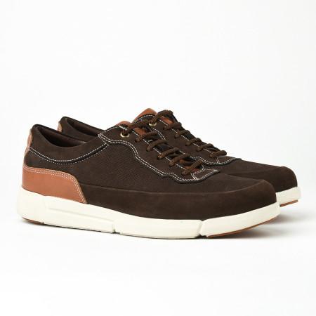 Slika Kožne muške patike/cipele SF401-3 braon