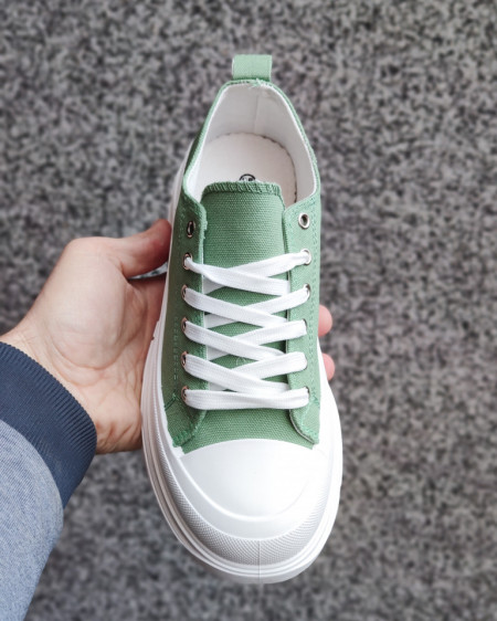 Slika Plitke patike L182103 zelene
