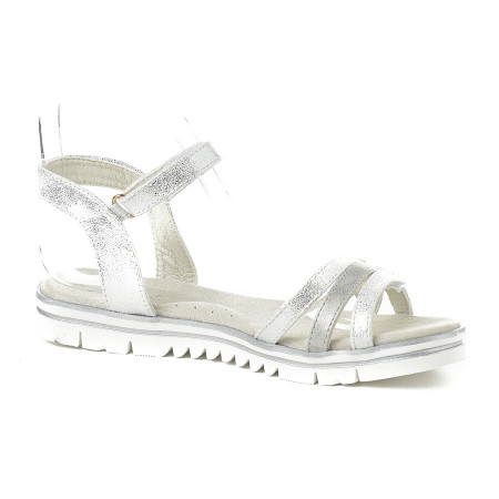 Slika Sandale za devojčice CS252036 srebrne (brojevi od 31 do 35)