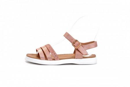 Slika Sandale za devojčice CS271940 srebrne (brojevi od 31 do 36)