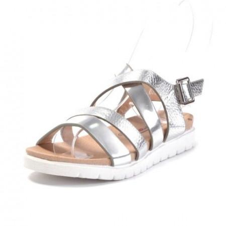 Slika Sandale za devojčice CS27838 srebrne (brojevi od 31 do 36)
