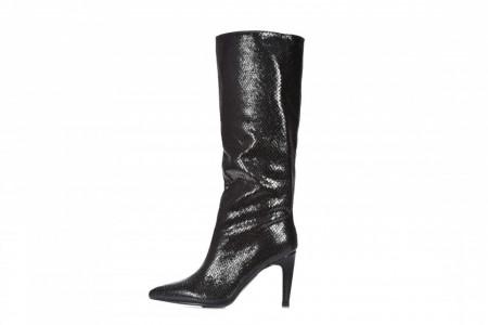 Slika Ženske čizme na štiklu LX562026 crne