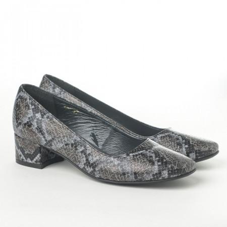 Slika Cipele na malu štiklu K-126/1 sive