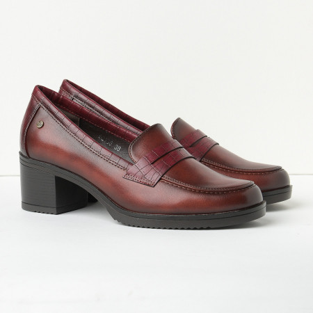 Slika Cipele na štiklu C2135 bordo
