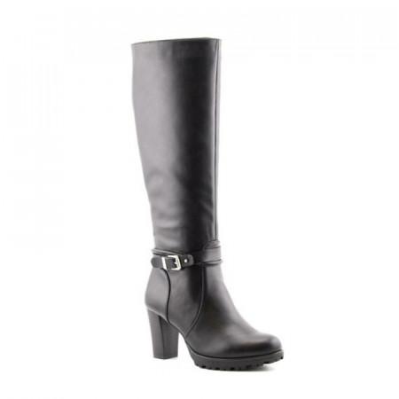 Slika Duboke čizme na štiklu LX85670 crne