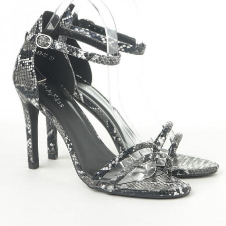 Slika Elegantne sandale na štiklu 1949-21 crne