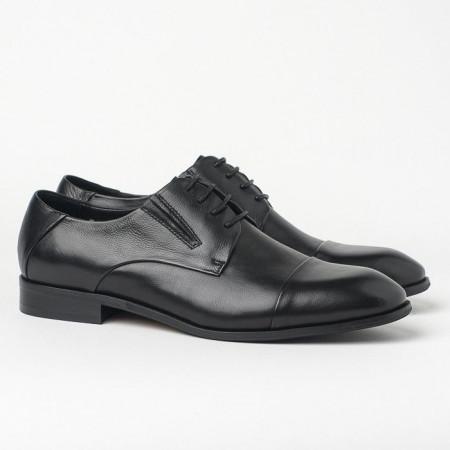 Slika Kožne muške cipele HL-1051F-31-N3 crne