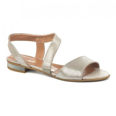 Slika Kožne ravne sandale 11-841