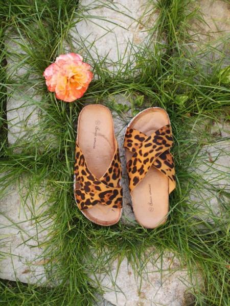 Slika Ženske papuče 117 leopard dezen