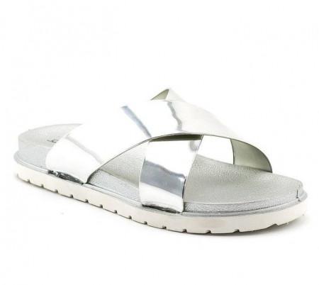 Slika Ženske papuče LP91304 srebrne