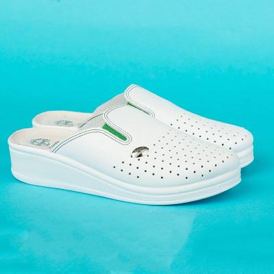 Anatomske papuče MEDICAL 201 bela