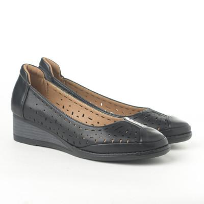 Cipele na malu petu C2031 crne