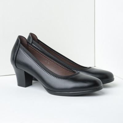Cipele na štiklu C4816 crne