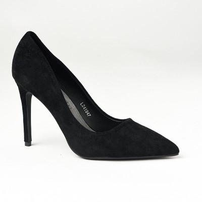 Cipele na štiklu L241947 crne