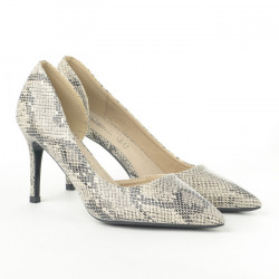 Cipele na štiklu L242056 bež
