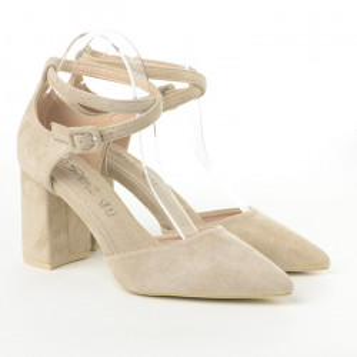 Cipele na štiklu LS242023 bež