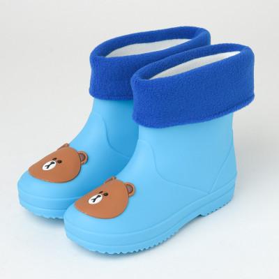 Dečije postavljene gumene čizmice RJ011A-RJ012A svetlo plave