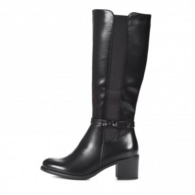Duboke ženske čizme LX601927 crne