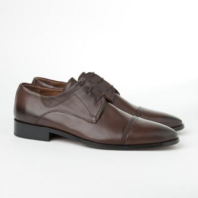 Kožne muške cipele 1511 braon