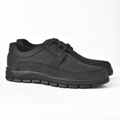 Kožne muške cipele AP3012 crne