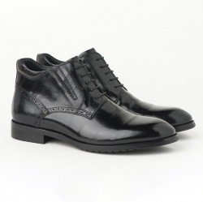 Kožne muške duboke cipele HL-H1051F-2A crne