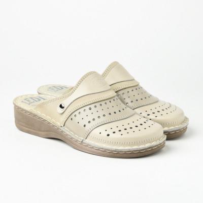 Kožne papuče 670 bež