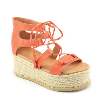 Sandale na debelom djonu LS021701 narandžaste
