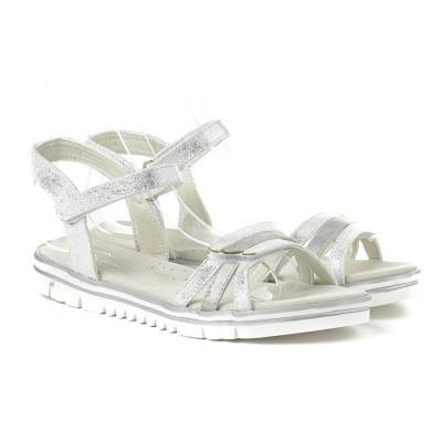 Sandale za devojčice BS252016 srebrne (brojevi od 25 do 30)