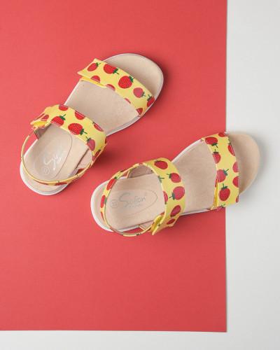 Sandale za devojčice BS252118 žute (brojevi od 25 do 30)