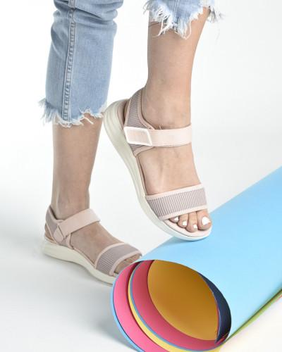 Udobne sportske sandale S482 svetlo roze