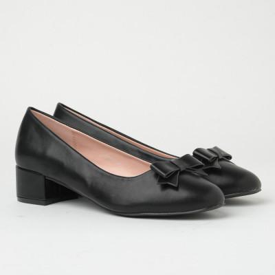 Ženske cipele na malu petu WL3091 crne