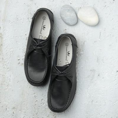 Ženske kožne cipele C71 crne