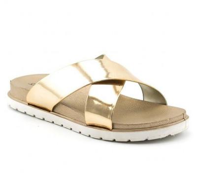 Ženske papuče LP91304 zlatne