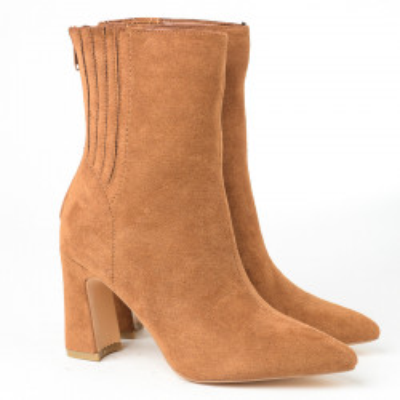 Ženske poluduboke čizme A152 kamel