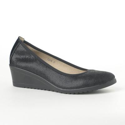 Cipele na malu petu C2026 crne
