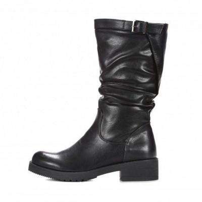 Duboke ženske čizme LX191918 crne