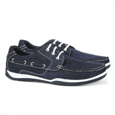 Kožne muške cipele 11153/2 teget