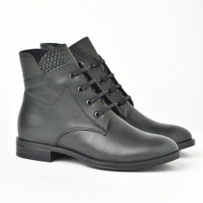 Kožne poluduboke cipele 9113 zelene