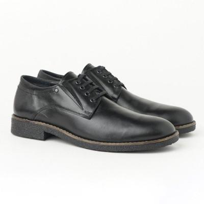 Muške kožne cipele 5880-01 crne