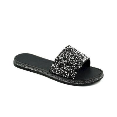 Ravne papuče LP020952 crne