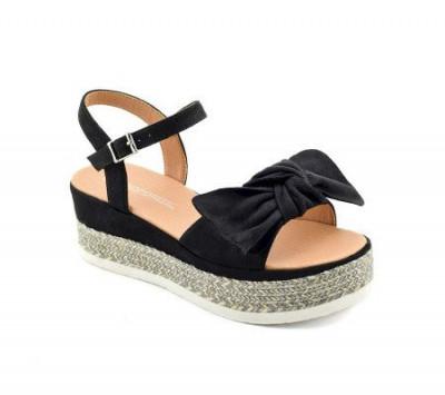 Sandale na debelom djonu LS020550-1 crne
