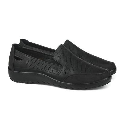 Ženske cipele / mokasine L90300 crne