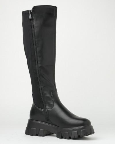 Ženske duboke čizme CA628 crne