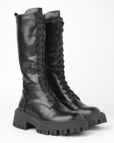 Ženske duboke čizme WL3100-1 crne