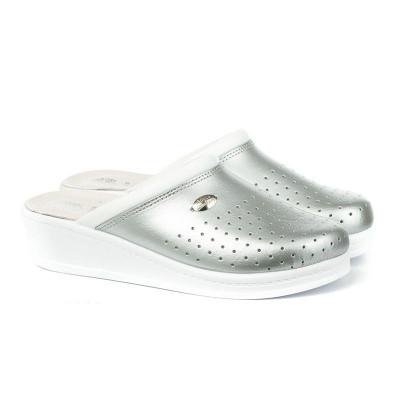 Anatomske papuče MEDICAL 100 srebrne