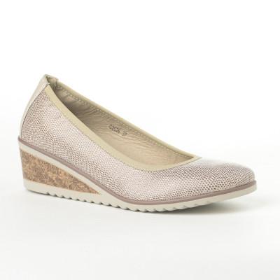 Cipele na malu petu C2026 bež