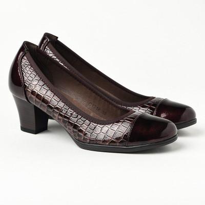 Cipele na štiklu C1716 bordo