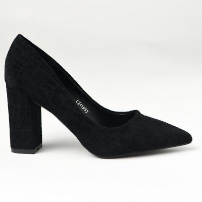Cipele na štiklu L241953 crne