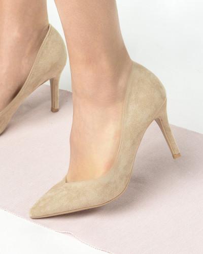 Cipele na štiklu L242001 bež